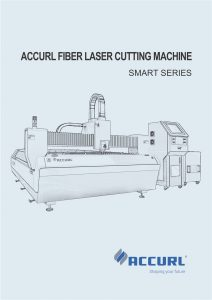 Accurl Fiber Laser Cutting Machine Smart KJG Series