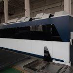 Machine de découpage de laser de fibre de tôle d'acier inoxydable d'acier au carbone de fer de commande numérique par ordinateur 1000w