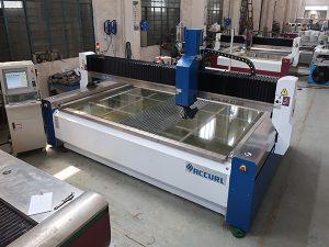 2000 * 1500mm 380 MPA abrasif trempé et feuilleté verre haute pression CNC machine de découpe au jet d'eau