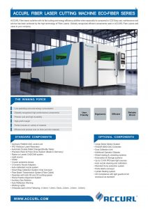 Accurl Fiber Laser Cutting Machine ECO-FIBER Series