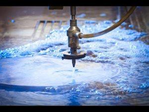 3D 5 axes Waterjet CNC Machine-jet d'eau découpant des jets d'eau en acier inoxydable à haute pression