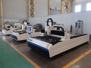 Prix de la machine de découpe laser fibre 500w pour le métal
