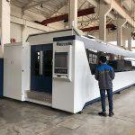 500w 700w 1kw, 2kw, 3kw, découpeuse de laser de fibre optique de commande numérique par ordinateur de feuille de métal