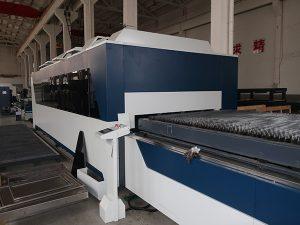 Découpeuse en métal de laser de fibre de commande numérique par ordinateur de fibre de 500w 750w 1000w 1500w