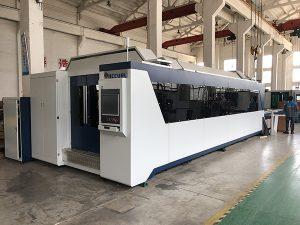 Machine de découpage 1500 * 3000mm de laser de fibre en métal d'acier au carbone d'acier inoxydable d'acier au carbone de 500w 750w 1000w