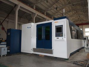 Découpeuse de laser de tôle 500w et coupeur de laser de tuyau de cn