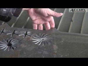 5D 5 axes Waterjet CNC Découpe de jets d'eau de machine CNC - Épaisseur de métal