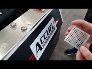 machine de découpage de laser de fibre de précise 700w ipg pour la coupe de laser de commande numérique par ordinateur de feuille de métal