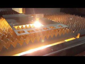 Laser de fibre d'ACCURL coupant 12mm avec la découpeuse de tôle de coupe de laser d'IPG 2kw