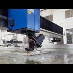 machine de découpe jet d'eau précise pour le métal, la pierre, le verre, l'acier