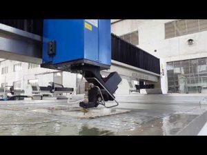 Machine de découpe au jet d'eau ACCURL pour la découpe au jet d'eau de métal, pierre, verre, acier
