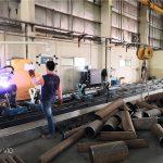 découpeuse en acier pour la coupe de tuyau en métal de coupe de laser de fibre à vendre