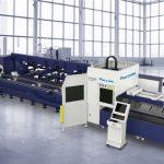 découpeuse chaude de laser de fibre de vente pour la coupe de profil de tuyau en métal