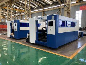 machine de découpage de laser de fibre matérielle applicable en métal de cnc
