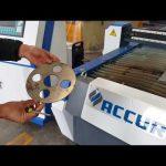 machine de coupeur de plasma de cnc de précision pour la coupe en tôle avec hypertherm powermax 125