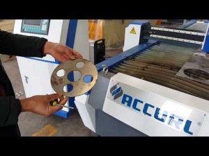 Machine de coupeur de plasma de commande numérique par ordinateur pour la coupe de tôle avec Hypertherm PowerMax 125