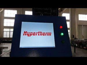 Découpe au plasma CNC et machine de découpe à flamme OXY avec le plasma HPR400XD d'Hypertherm HyPerformance
