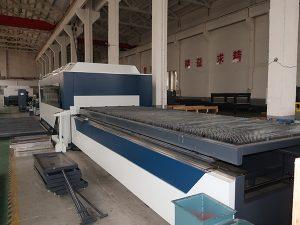 Chine haute efficace cnc raycus / max / ipg en acier inoxydable machine de découpe laser avec fibre lase