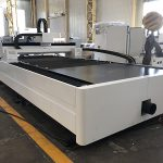 Découpeuse de laser de fibre de tuyau en métal 500W