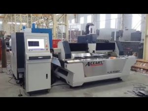 Découpeuse de laser de commande numérique par ordinateur de fibre 500W pour l'acier doux de tôle 6mm, acier inoxydable, cuivre, laiton