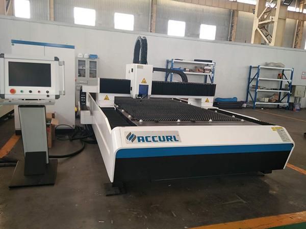 Hanslaser G3015F tôle en acier inoxydable machine de découpe laser 4kw laser coupe fibre laser 4000W