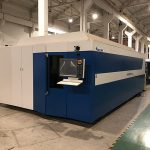 découpeuse de laser de fibre de commande numérique par ordinateur de puissance élevée pour l'acier inoxydable