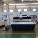 prix chaud de machine de découpage de laser de fibre en acier de vente / coupeur de tube en métal