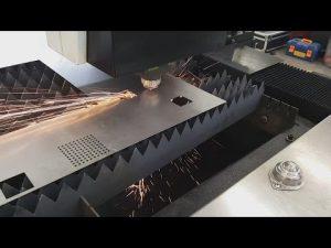 Comment la découpeuse de laser de commande numérique par ordinateur de tôle de fibre de la Chine Accurl 700w 1000w pour l'acier inoxydable