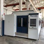 grande puissance 1000w ~ 4000w machine de découpe laser à fibre pour la coupe de tôle lisse
