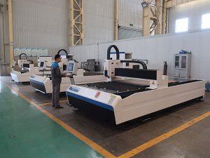 300w 500w 750w 1000w 2000w 3000w 8000w usine de machines de découpe laser à fibres métalliques