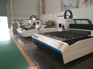 prix usine 500watts de découpage de laser de fibre de fer d'acier au carbone d'acier inoxydable pour la vente