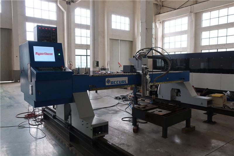 le fer / équipement de coupe de flamme de coupeur de plasma d'acier inoxydable a commandé le contrôle de commande numérique par ordinateur