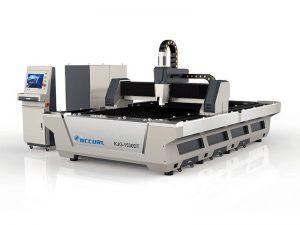 découpeuse de laser de fibre en métal 500w 1000watt 3kw pour l'aluminium en acier inoxydable