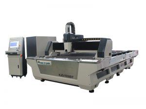 découpeuse entièrement automatique de tube de laser de fibre de commande numérique par ordinateur avec de doubles tables interchangeables