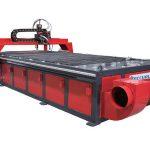 acier inoxydable / aluminium / feuille de fer 1530 table cnc plasma machine de découpe avec programme cao