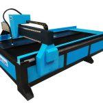 machine de découpage de plasma / flamme de table de commande numérique par ordinateur de fournisseur chinois pour les produits mécaniques
