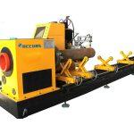 machine de découpage de tube / tube en métal de laser de fibre de cnc pour le tube rond / carré / rectangulaire / ovale