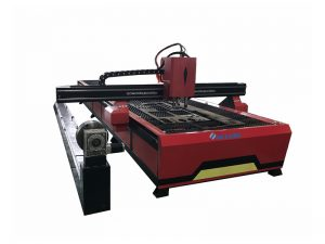 fabrication d'usine de laser de fibre de machine de coupeur de tube de commande numérique par ordinateur 500w