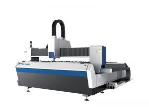découpeuse industrielle de tube de laser de fibre pour le tube 2000w d'acier au carbone de 16mm
