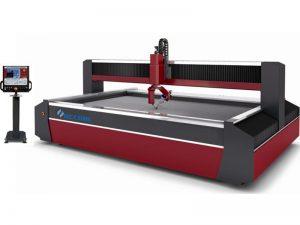 Machine de découpage de commande numérique par ordinateur de jet d'eau d'eau de découpeuse en métal 5-axes