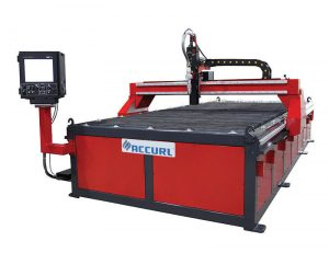 table de découpe plasma cnc de table / découpage cnc à faible coût en métal de la machine à plasma