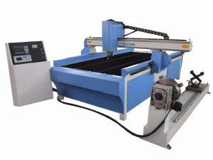 machine de découpe au plasma avec système de coupe-tube