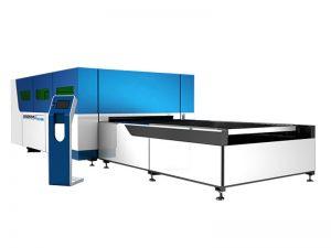 Équipement de coupeur de laser de fibre d'acier inoxydable en métal de 500w 1000w 2000w pour l'acier au carbone de 5mm