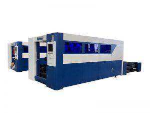 type économique machine de découpe laser à fibre pour machine de découpe laser acier / métal for sale