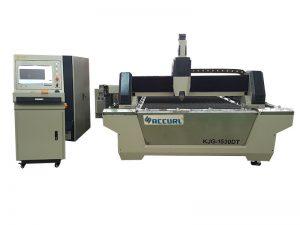 Découpeuse de laser de fibre de tôle 750w pour le processus d'acier inoxydable