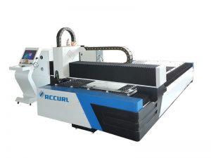 Machine de découpage de laser de fibre de tube et de métal 1500w cnc