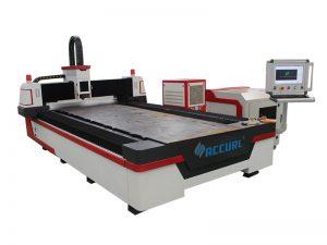 3 axes cnc machine de découpe laser à fibres cnc métal laser cutter pour acier doux 32mm