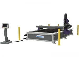 prix 4 * 8ft cnc plasma cutter machine pour le métal