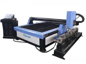 découpeuse de feuille de gi de plasma, coupeur rectangulaire de plasma de commande numérique par ordinateur de tube d'air à vendre