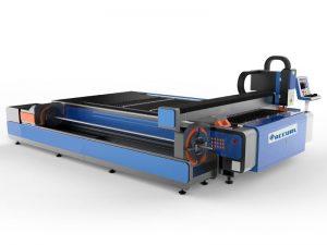 machine de découpage de plaque de plasma de prix concurrentiel, table de coupeur de plasma de commande numérique par ordinateur de tube / conduit d'air conduit de vente